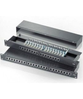 "ROTRONIC Rotronic Patch panel 19"" 16port Cat5e STP crni"
